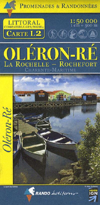 OLERON/RE  1/50.000