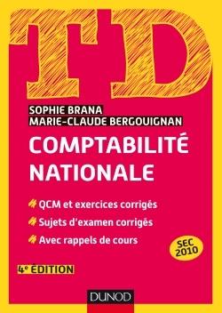 TD - COMPTABILITE NATIONALE - 4E ED.