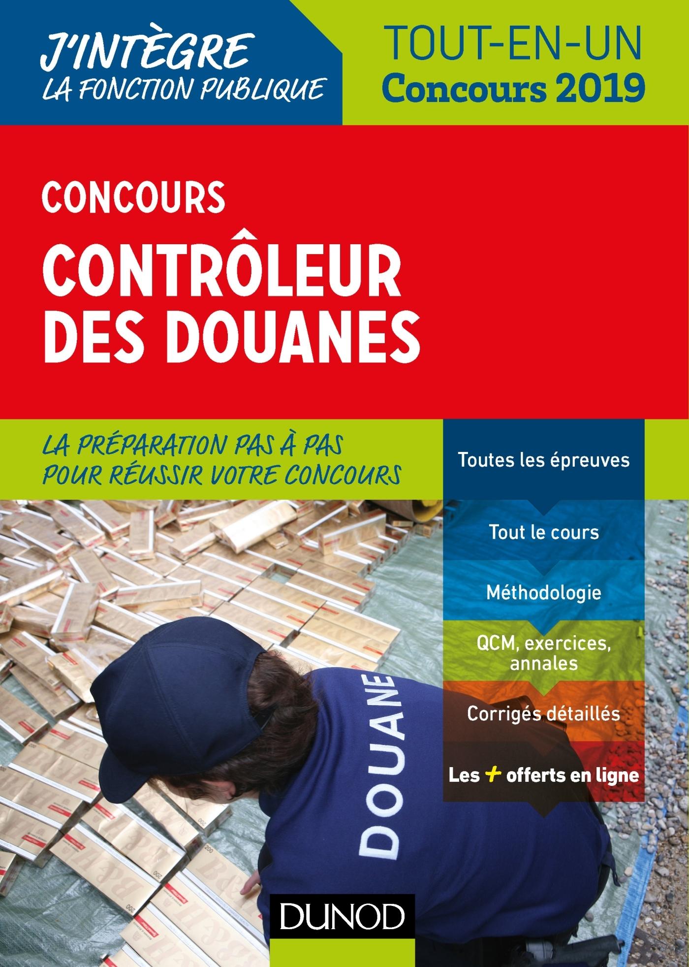 CONCOURS CONTROLEUR DES DOUANES - TOUT-EN-UN - CONCOURS 2019
