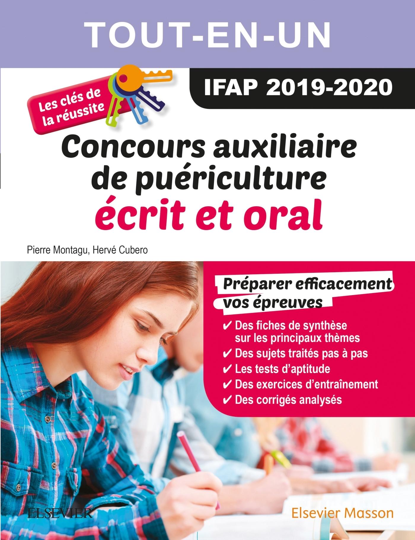 CONCOURS AUXILIAIRE DE PUERICULTURE 2019/2020 TOUT-EN-UN : ECRIT ET ORAL - LES CLES DE LA REUSSITE
