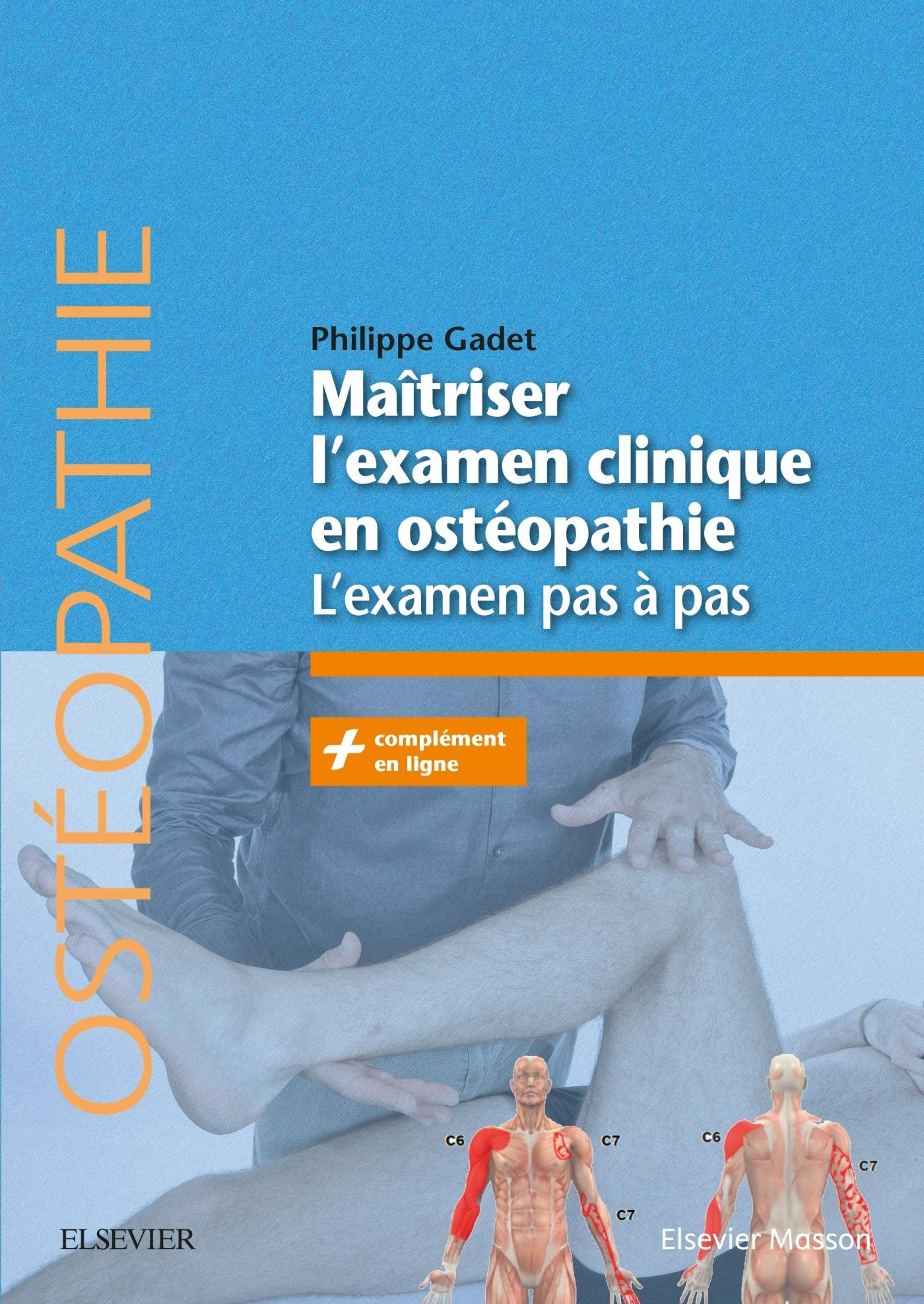MAITRISER L'EXAMEN CLINIQUE EN OSTEOPATHIE