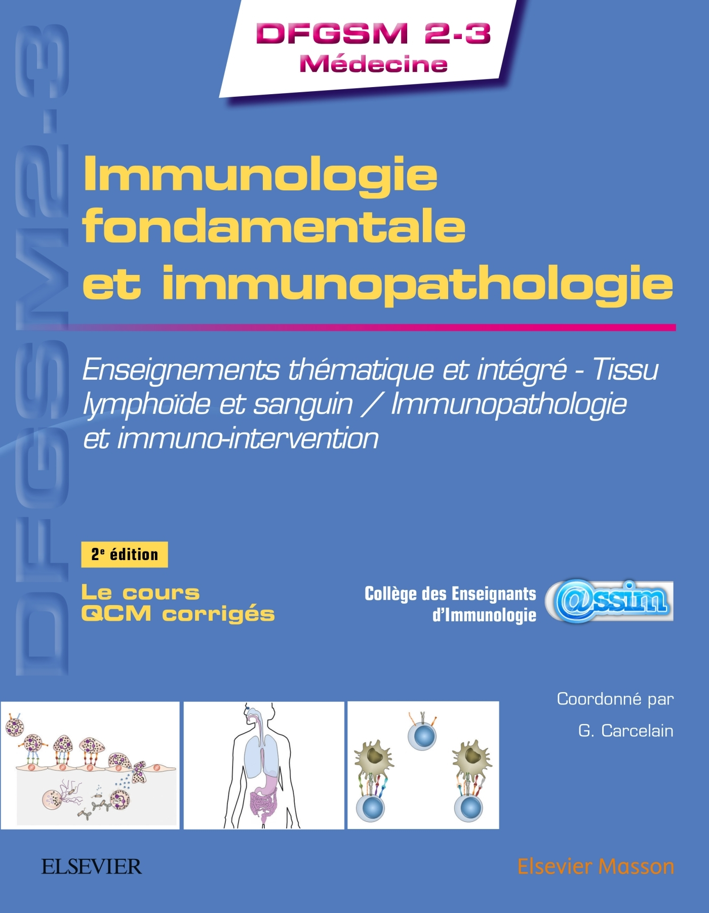 IMMUNOLOGIE FONDAMENTALE ET IMMUNOPATHOLOGIE - ENSEIGNEMENTS THEMATIQUE ET INTEGRE - TISSU LYMPHOIDE
