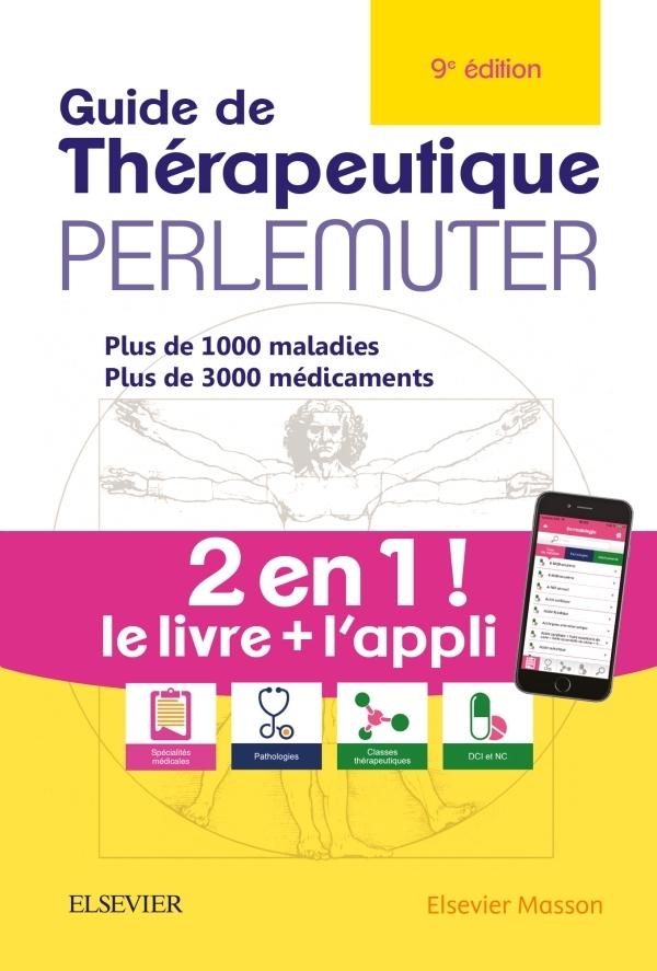 GUIDE DE THERAPEUTIQUE PERLEMUTER (LIVRE + APPLICATION)