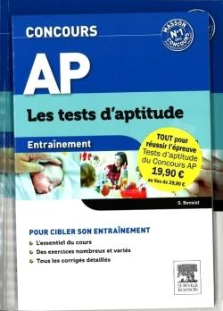 PACK CONCOURS AP - LES TESTS D'APTITUDE