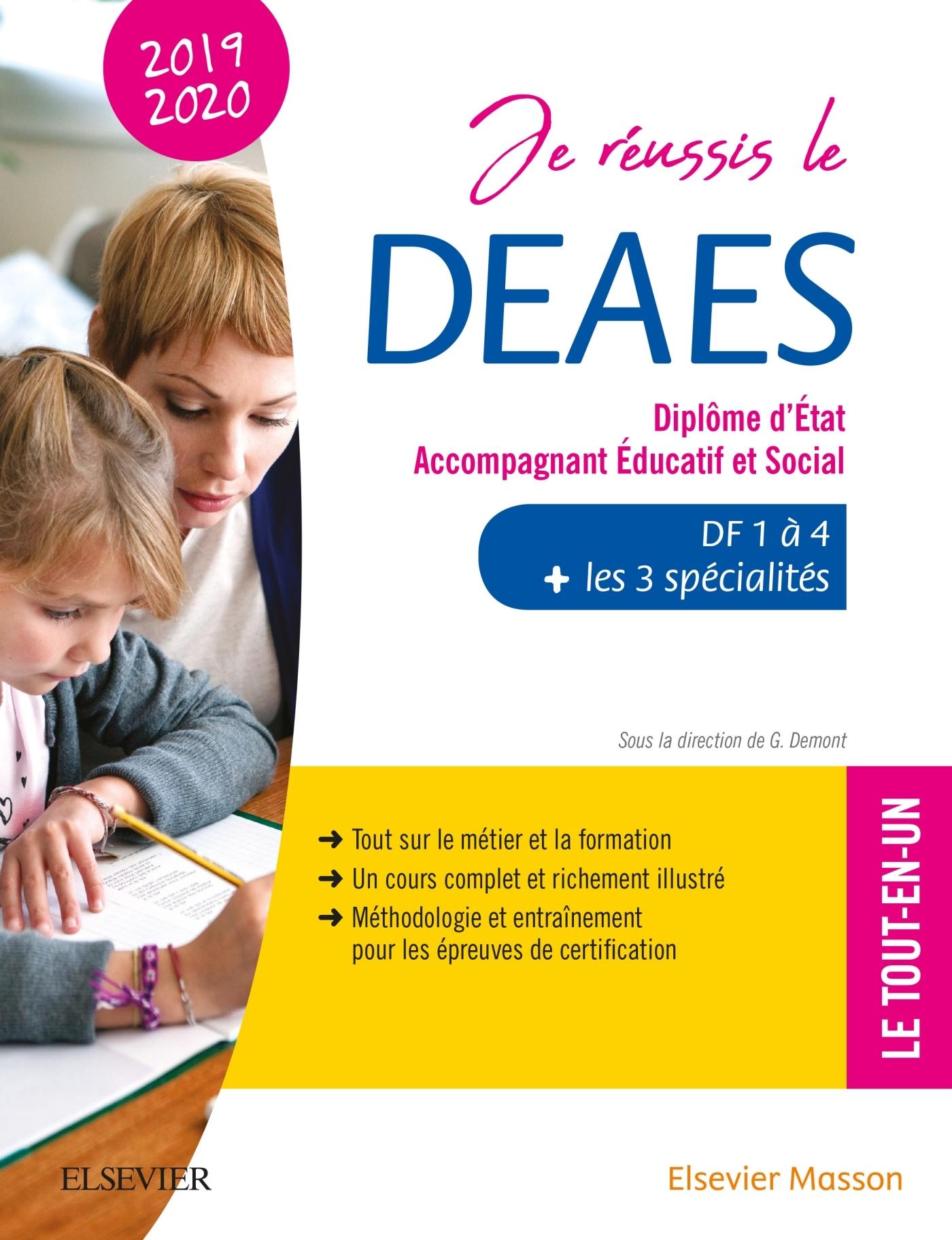 JE REUSSIS LE DEAES  ? DIPLOME D'ETAT ACCOMPAGNANT EDUCATIF ET SOCIAL ? 2019-2020