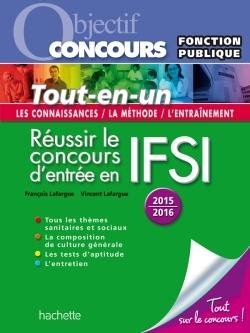 OBJECTIF CONCOURS TOUT EN UN CONCOURS IFSI 2015