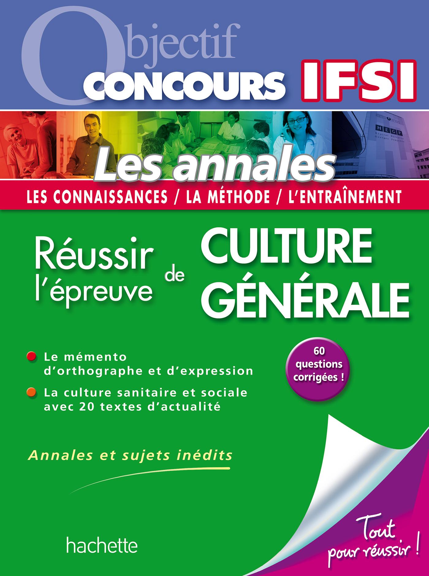 OBJECTIF CONCOURS - LES FICHES - LES TESTS D'APTITUDE AU CONCOURS IFSI NOUVELLE EDITION