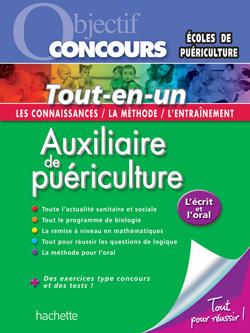 OBJECTIF CONCOURS- TOUT EN UN - AUXILIAIRE DE PUERICULTURE