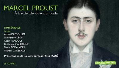 A LA RECHERCHE DU TEMPS PERDU (35 CD) L'INTEGRALE