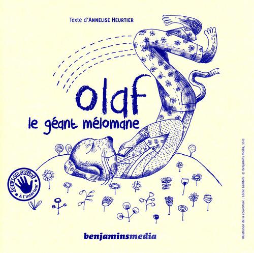 OLAF LE GEANT MELOMANE (+CD +BRAILLE ET GROS CARACTERES)