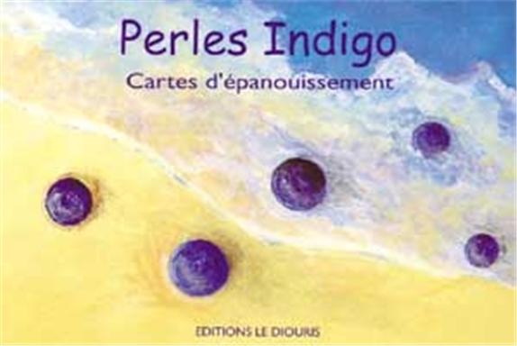 PERLES INDIGO - 55 CARTES DE PENSEES