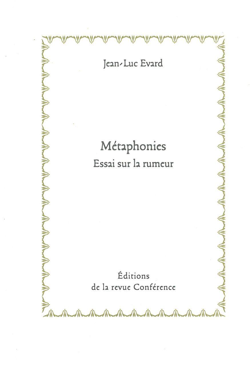 METAPHONIES