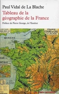 TABLEAU DE LA GEOGRAPHIE DE LA FRANCE
