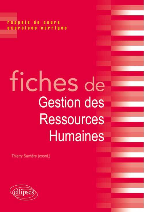 FICHES DE GESTION DES RESSOURCES HUMAINES
