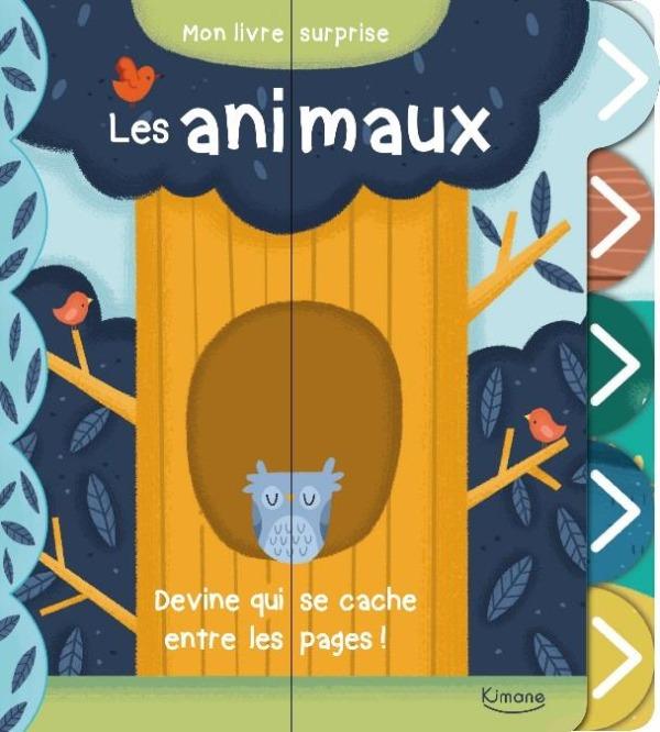 LES ANIMAUX (COLL. MON JOLI LIVRE SURPRISE)