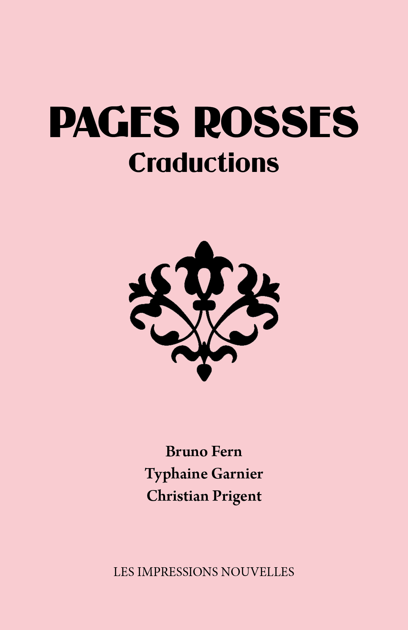PAGES ROSSES - CRADUCTIONS