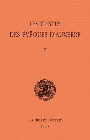 GESTES DES EVEQUES D'AUXERRE/2