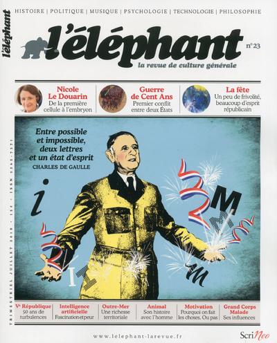 L'ELEPHANT - LA REVUE DE CULTURE GENERALE - NUMERO 23