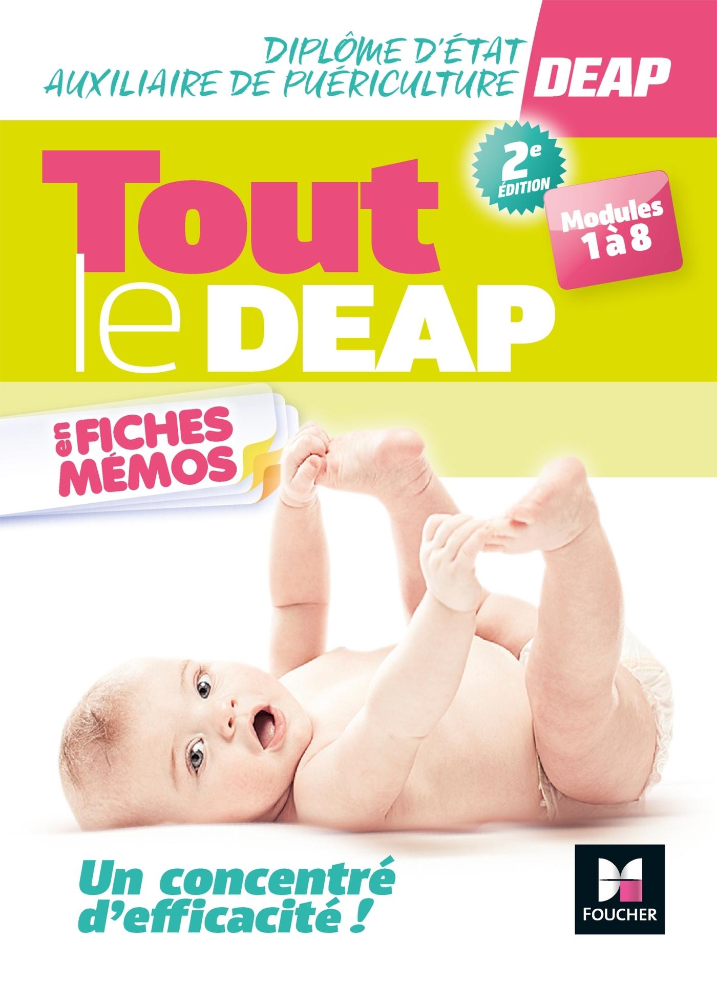 TOUT LE DEAP EN FICHES MEMOS - DIPLOME ETAT AUXILIAIRE DE PUERICULTURE - REVISION