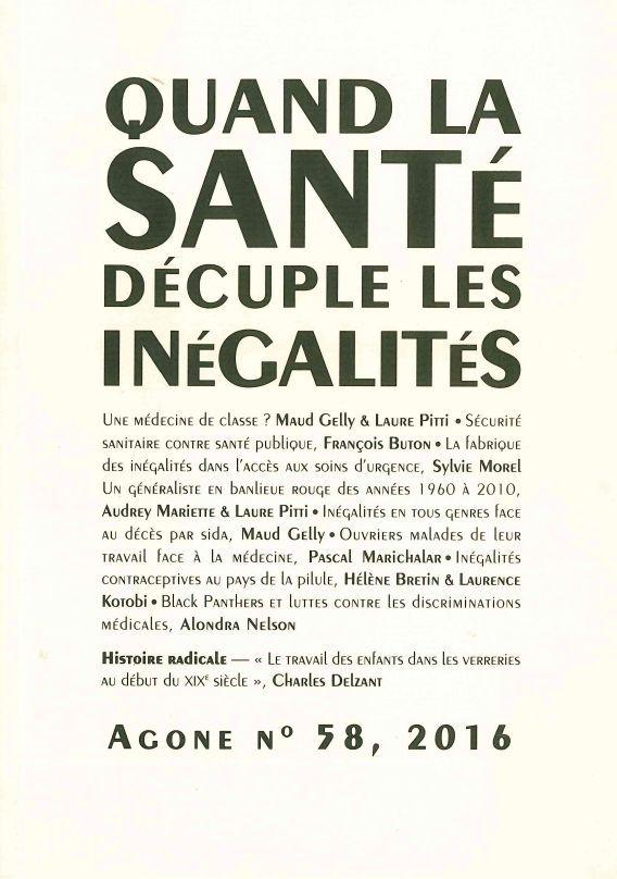 AGONE 58-QUAND LA SANTE DECUPLE LES INEGALITES-