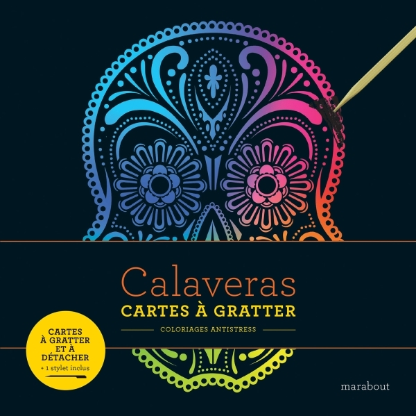 LIVRE A GRATTER - CALAVERAS