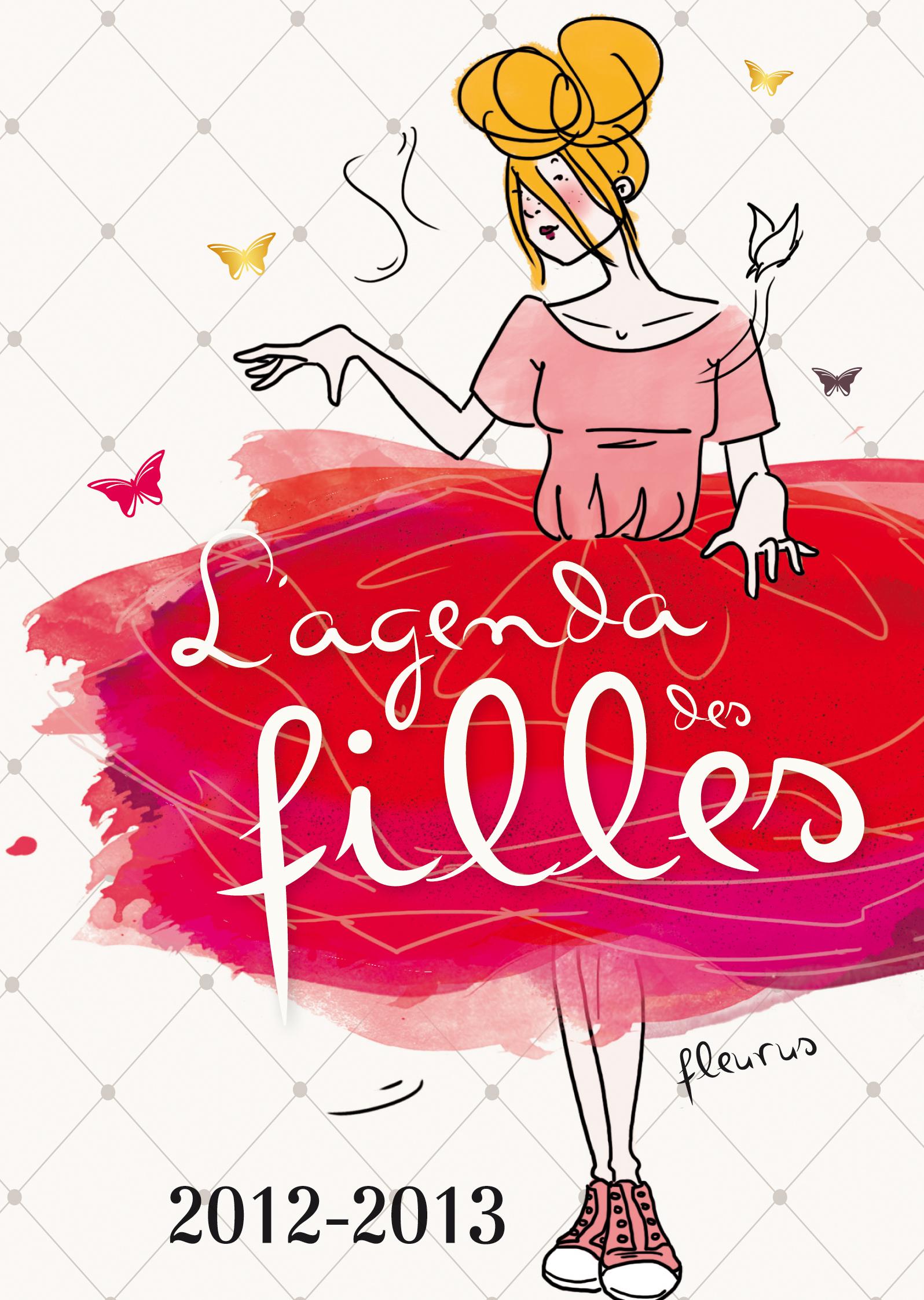 L'AGENDA DES FILLES 2012/2013