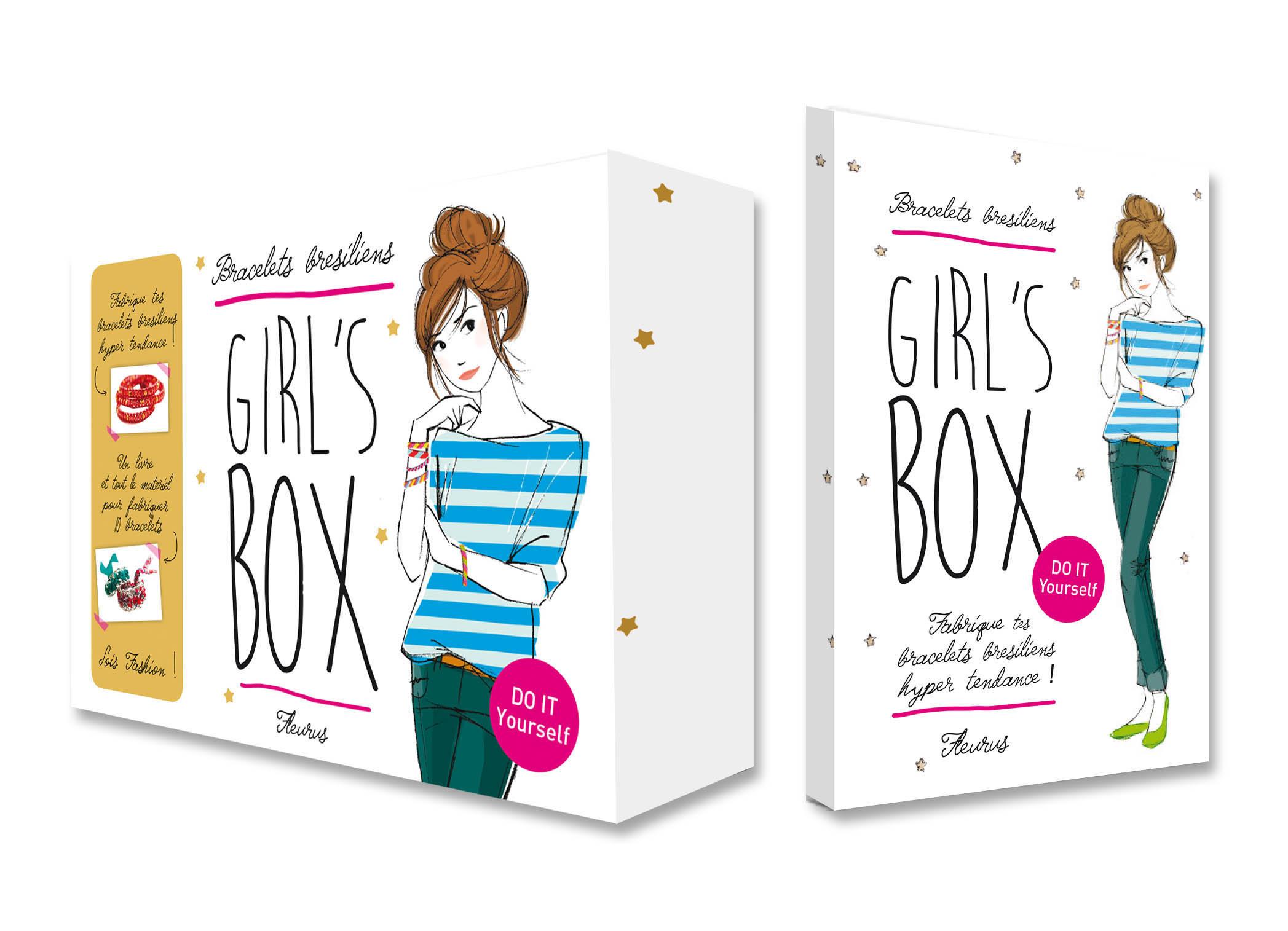 GIRL'S BOX - BRACELETS BRESILIENS