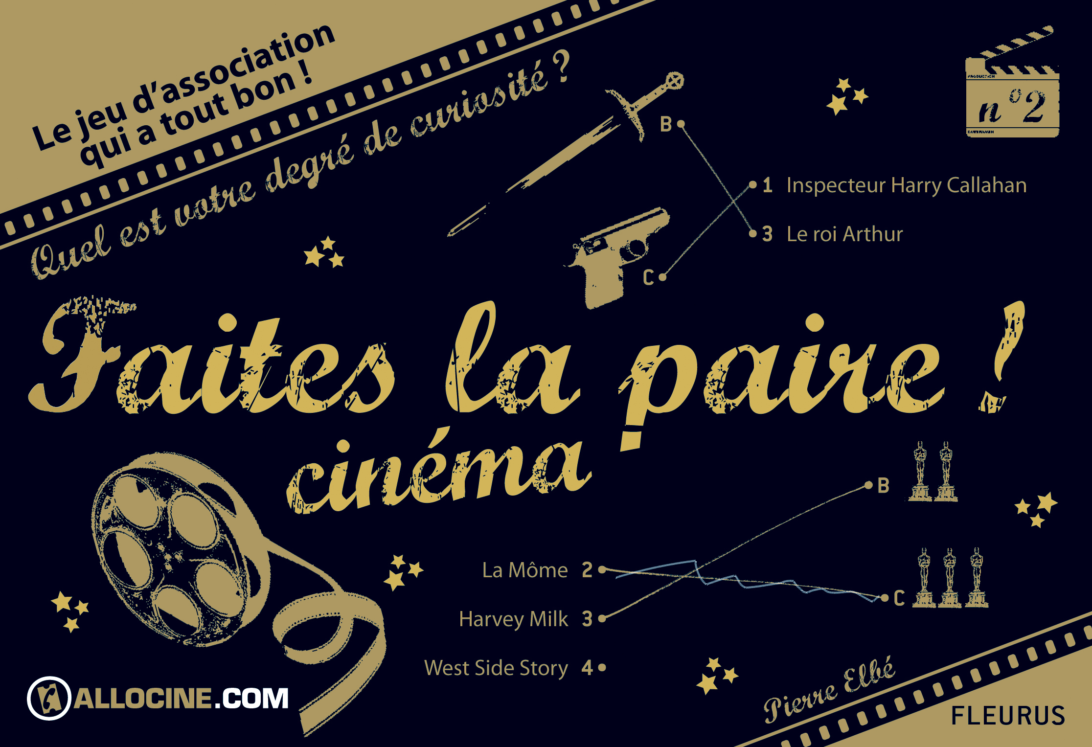 FAITES LA PAIRE CINEMA !