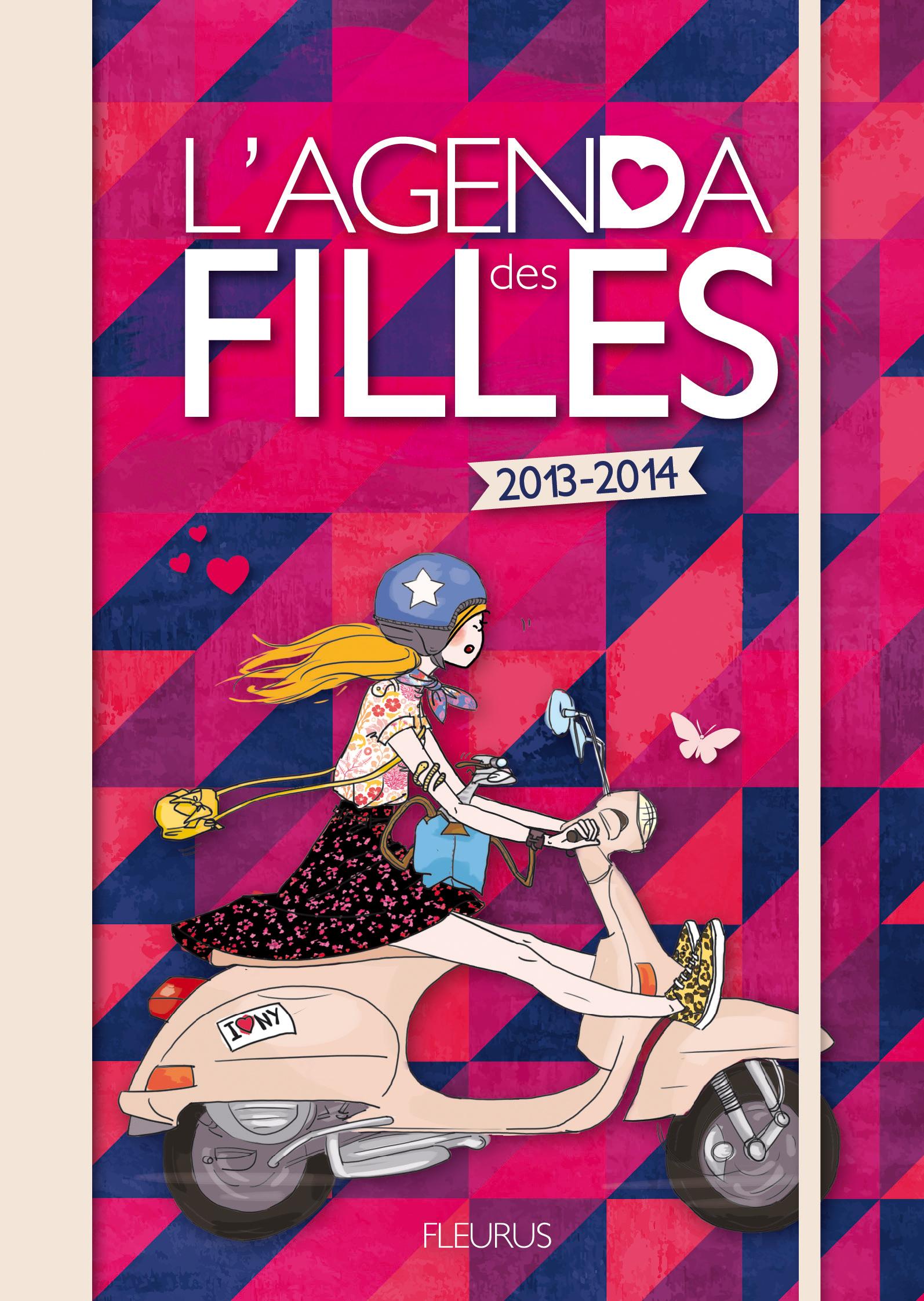 L'AGENDA DES FILLES 2013-2014