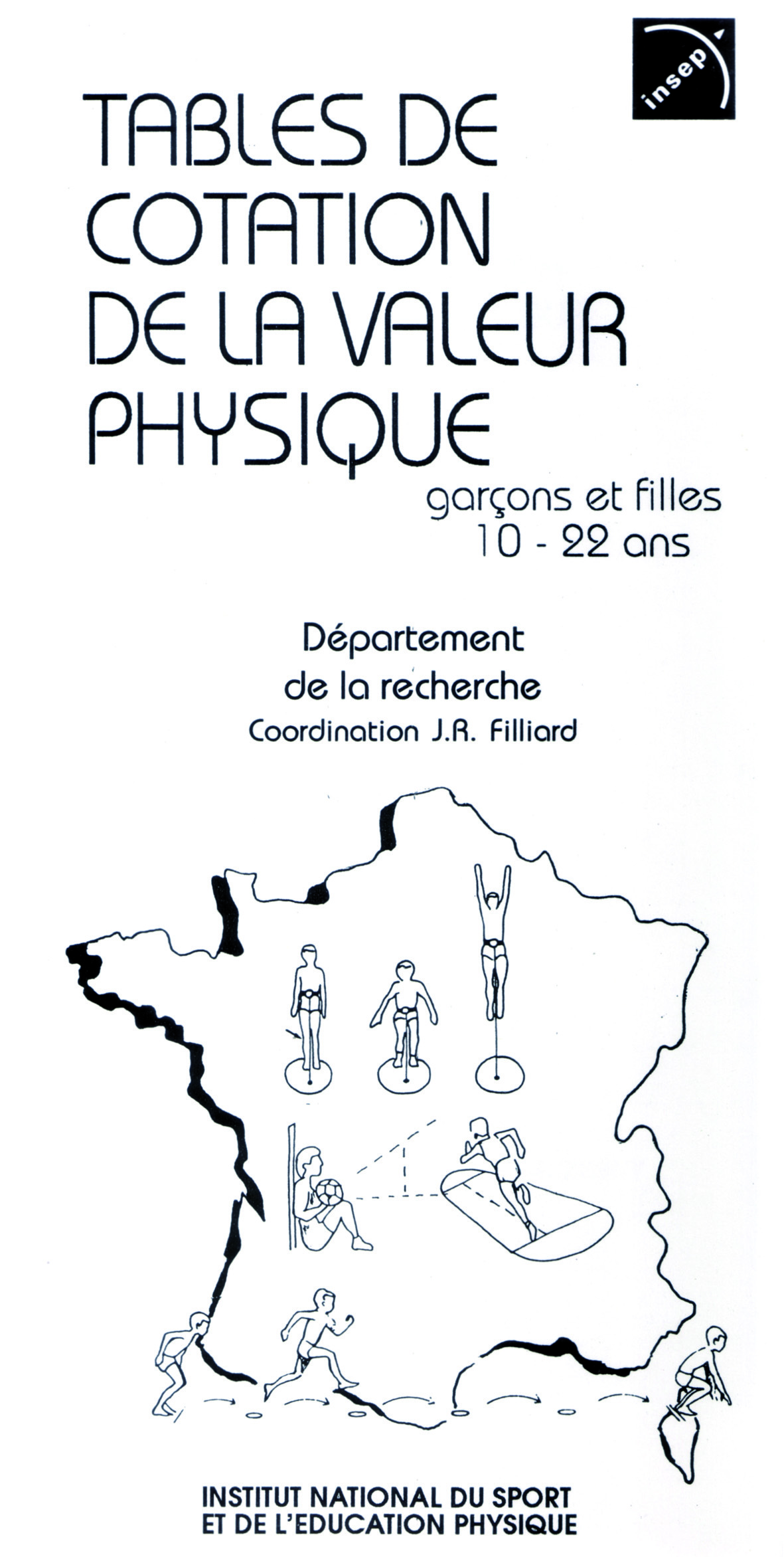 TABLES DE COTATION DE LA VALEUR PHYSIQUE