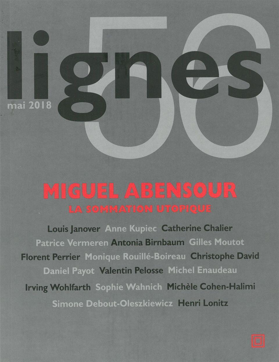 REVUE LIGNES N56