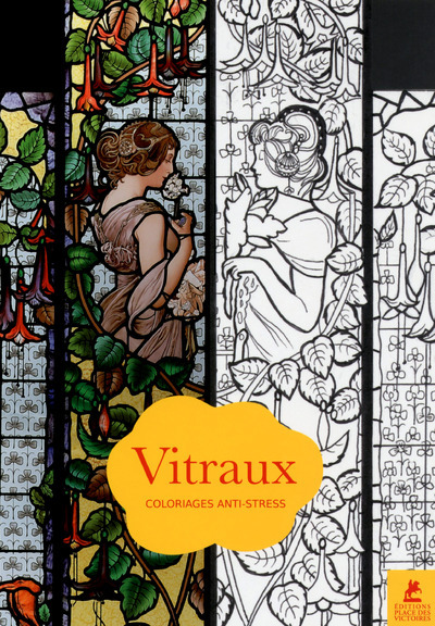 VITRAUX - COLORIAGES ANTI-STRESS