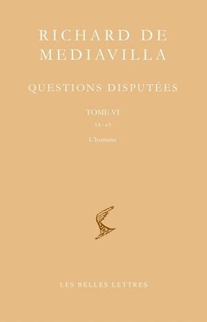 QUESTIONS DISPUTEES T6