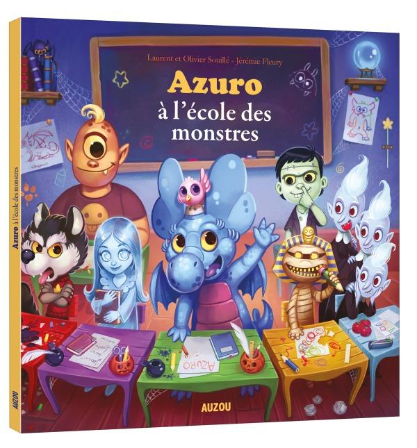 AZURO A L'ECOLE DES MONSTRES