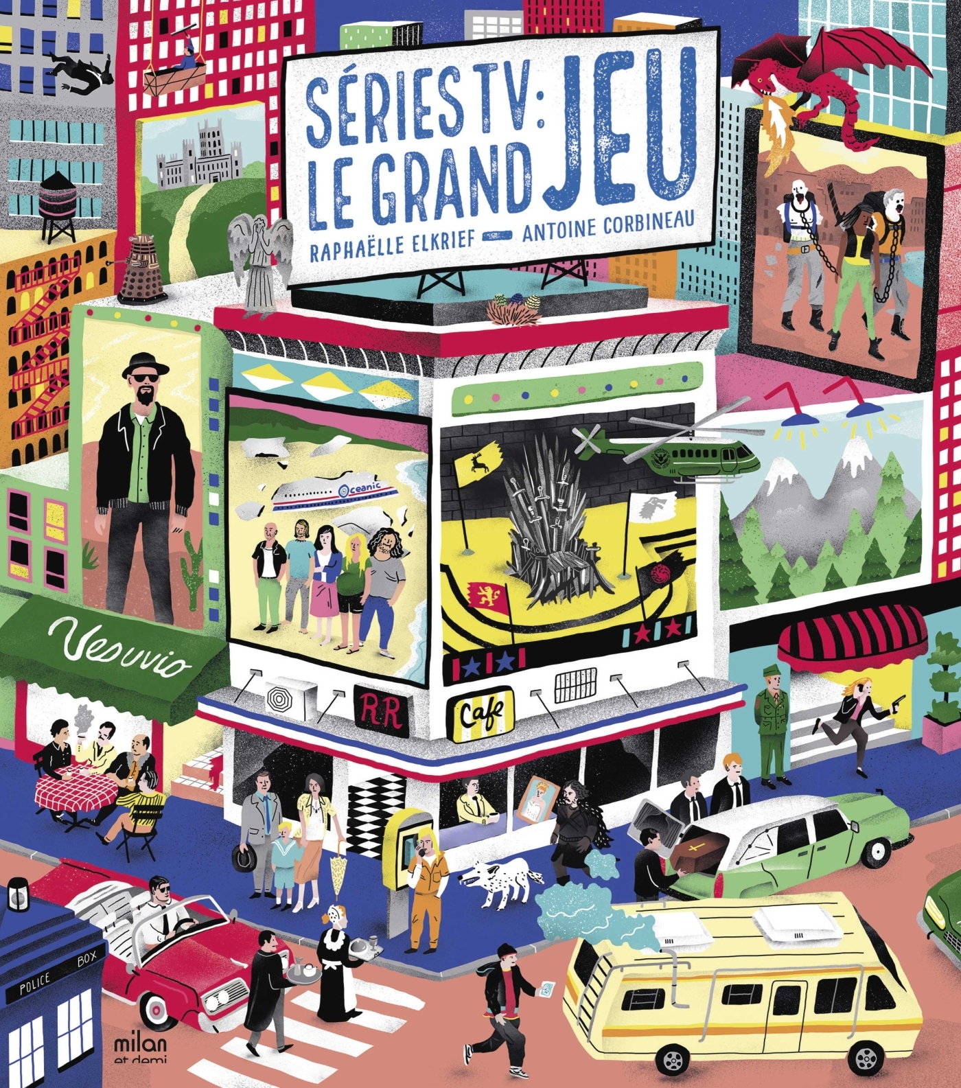 SERIES TV : LE GRAND JEU