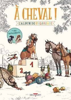 A CHEVAL ! - MES COLORIAGES
