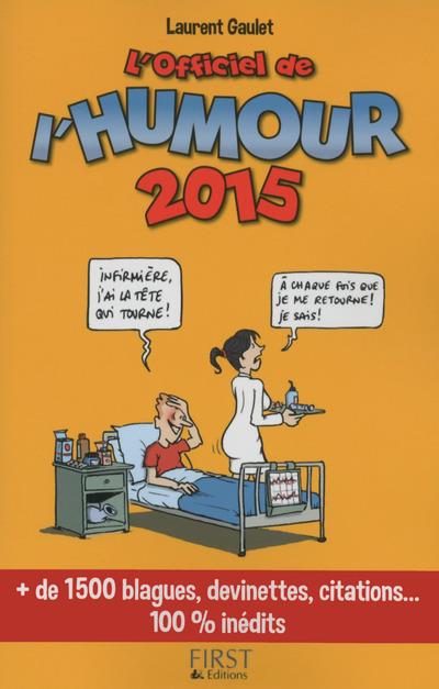 L'OFFICIEL DE L'HUMOUR 2015