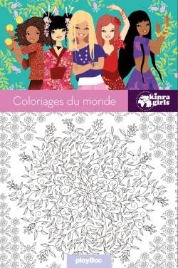 KINRA GIRLS - COLORIAGES DU MONDE