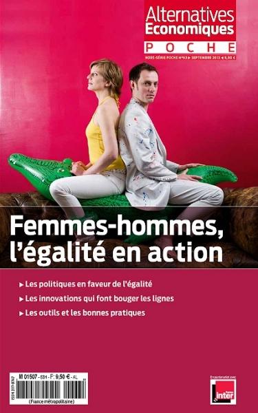 FEMMES-HOMMES L'EGALITE EN ACTION - ALTERNATIVES ECONOMIQUES HORS-SERIE POCHE N 63