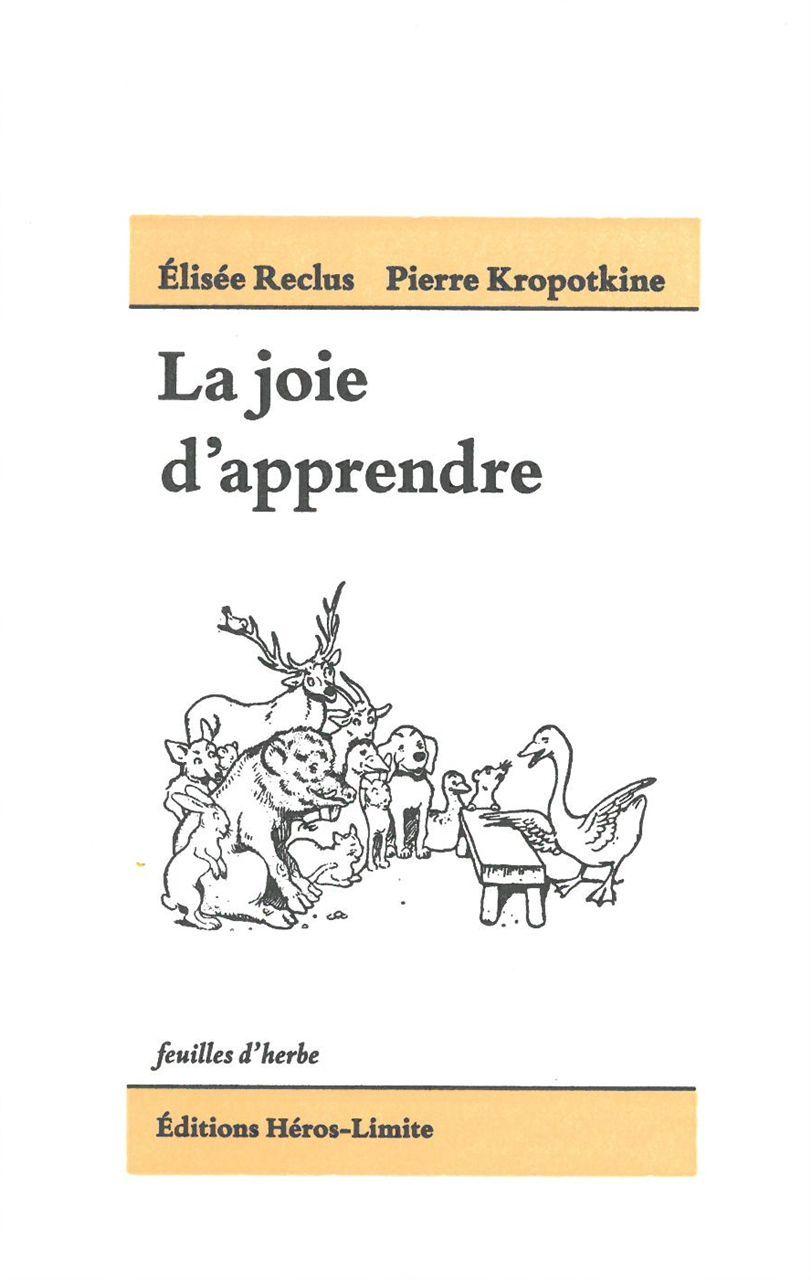 JOIE D'APPRENDRE (LA)