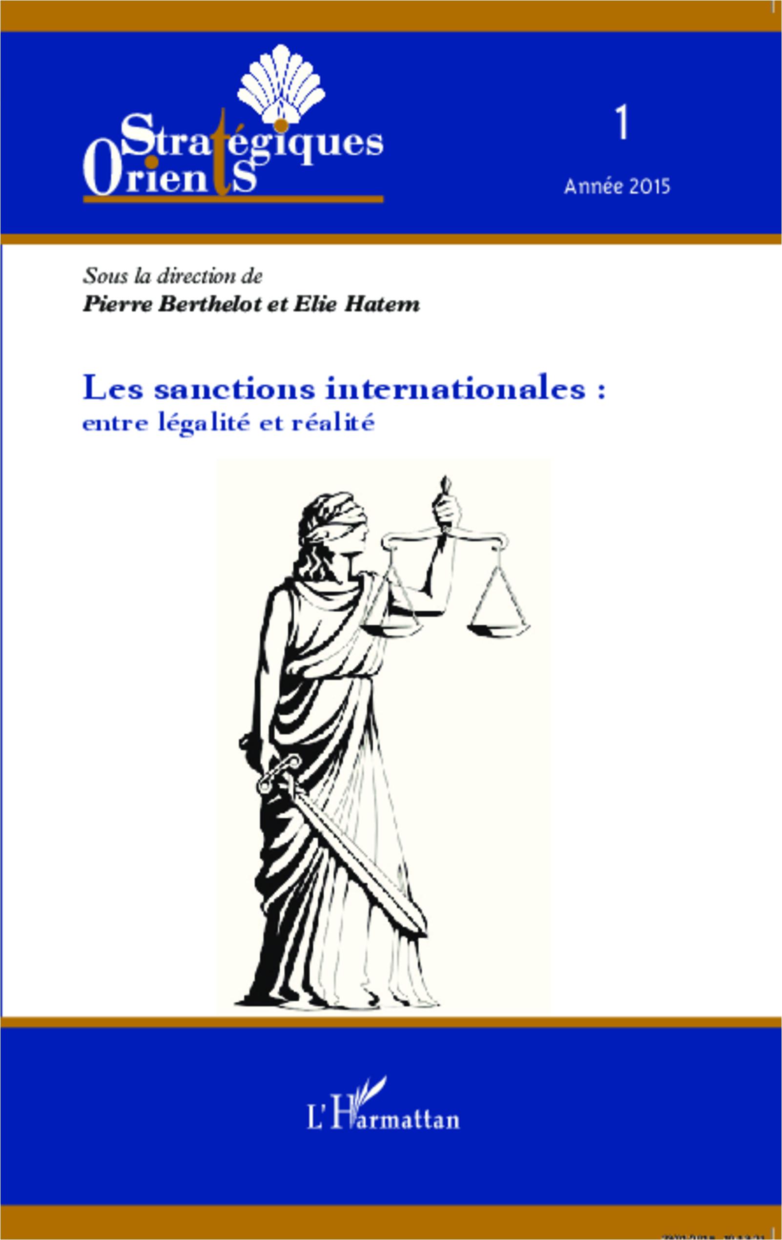 SANCTIONS INTERNATIONALES ENTRE LEGALITE ET REALITE