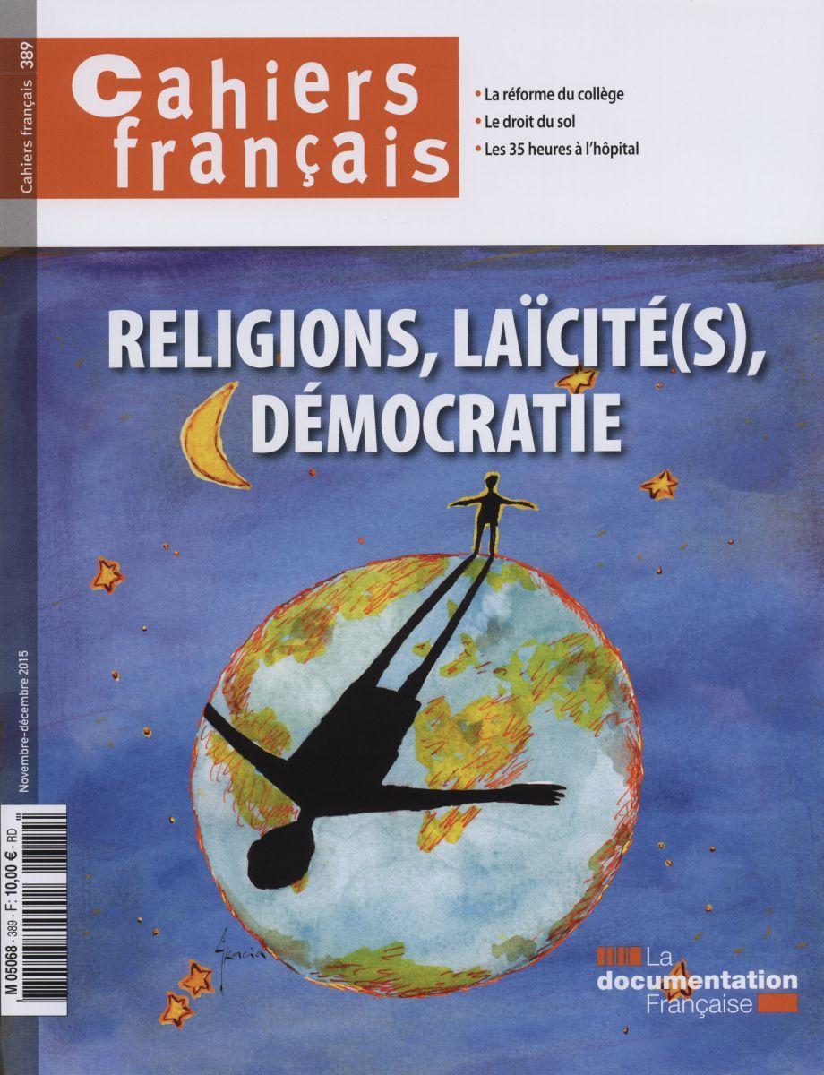RELIGIONS, LAICITE, DEMOCRATIE- CF N 389.