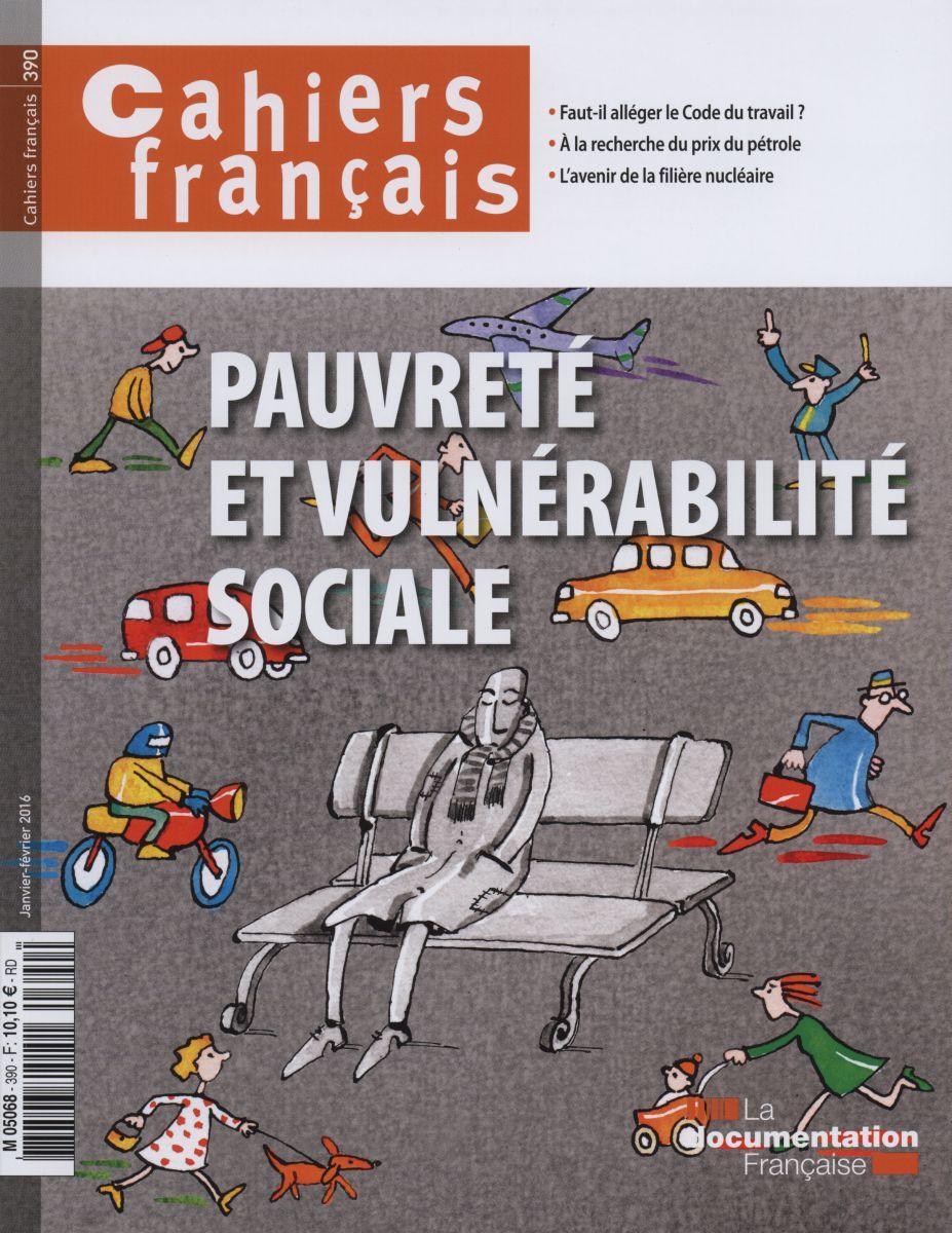 PAUVRETE ET VULNERABILITE SOCIALE CF N.390