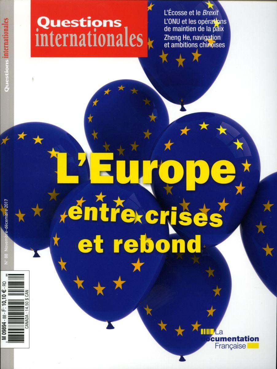 L'EUROPE, ENTRE CRISES ET REBOND