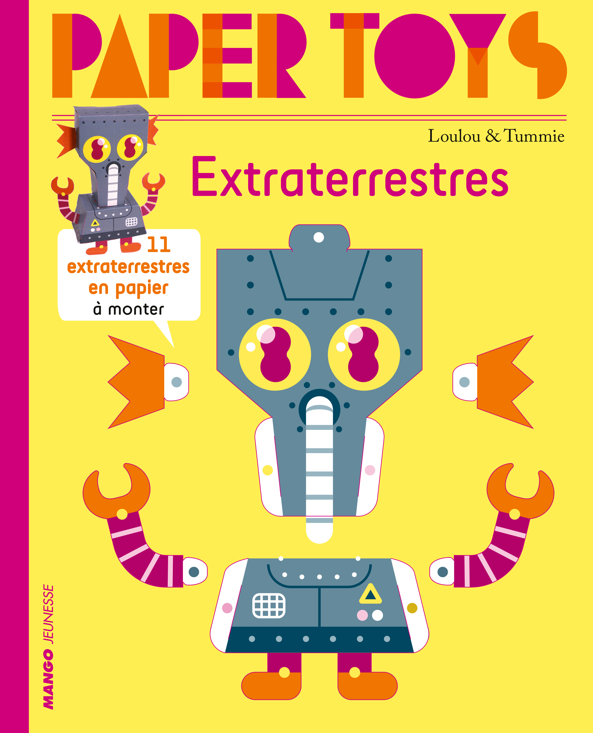 PAPER TOYS - EXTRATERRESTRES