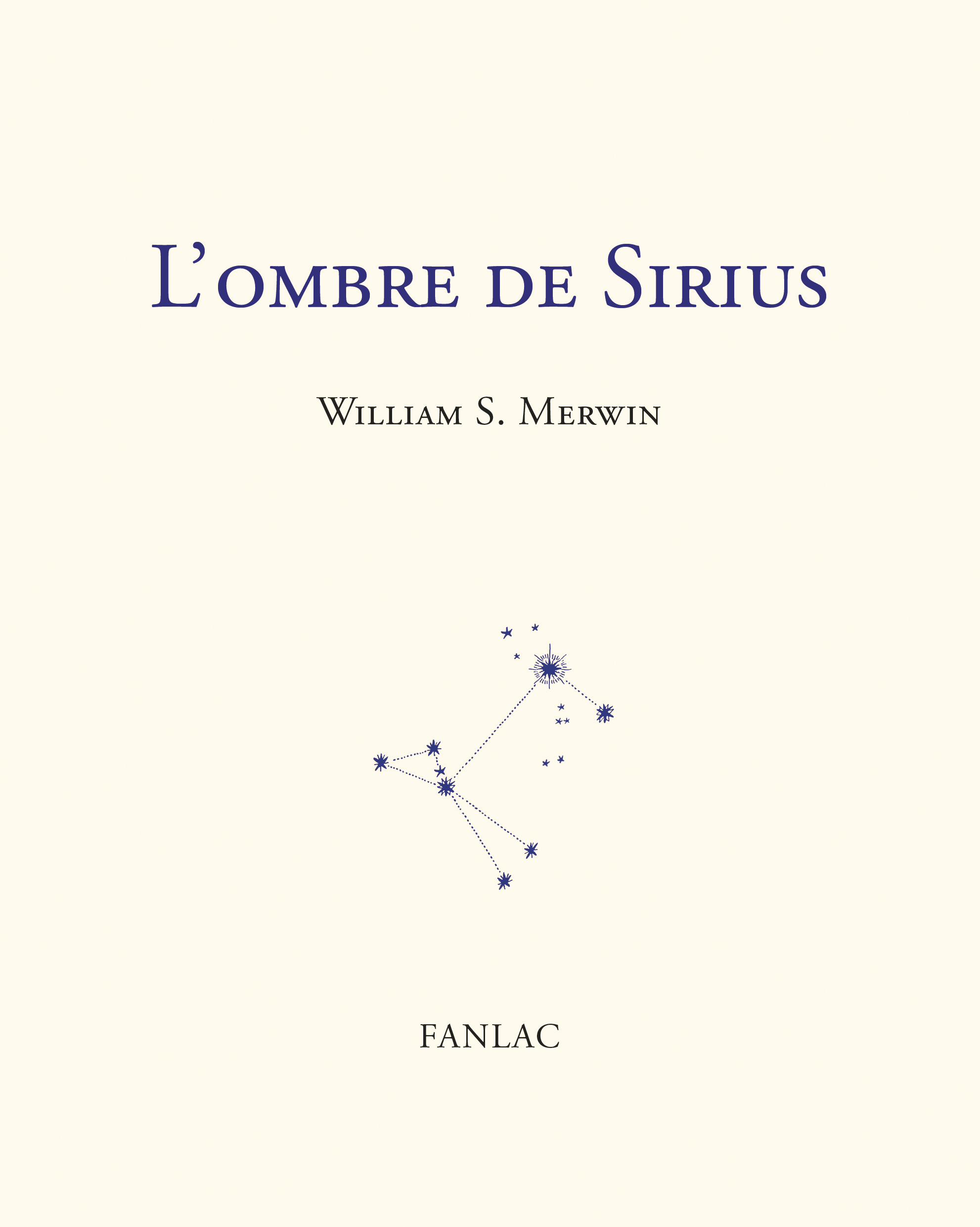L'OMBRE DE SIRIUS