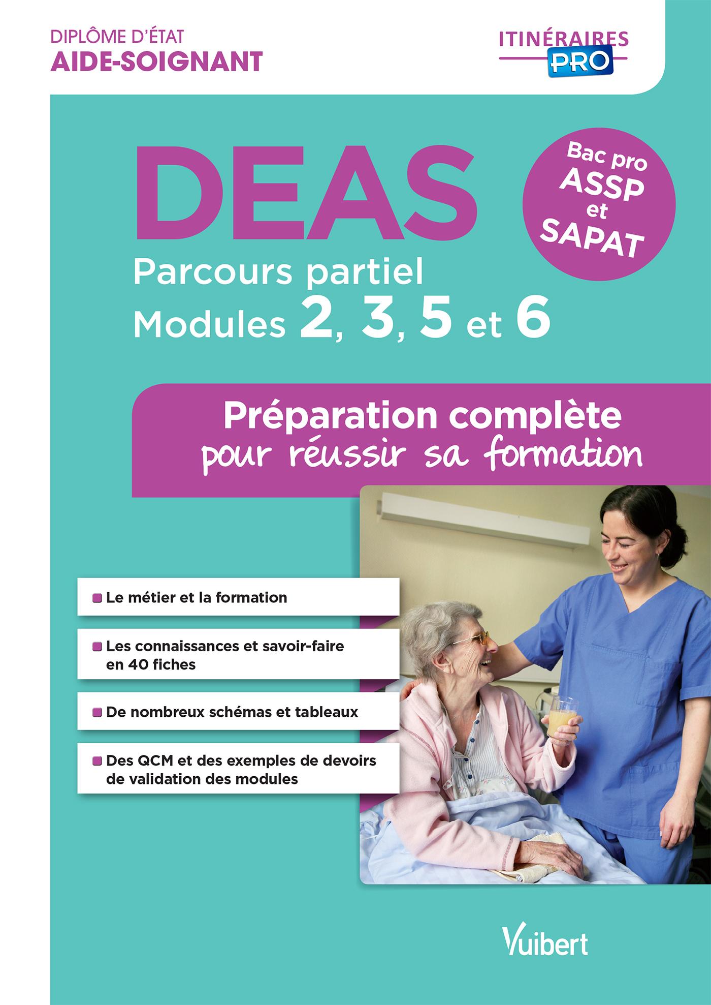 DEAS PARCOURS PARTIEL MODULES 2 3 5 ET 6 PREPARATION COMPLETE REUSSIR FORMATIO