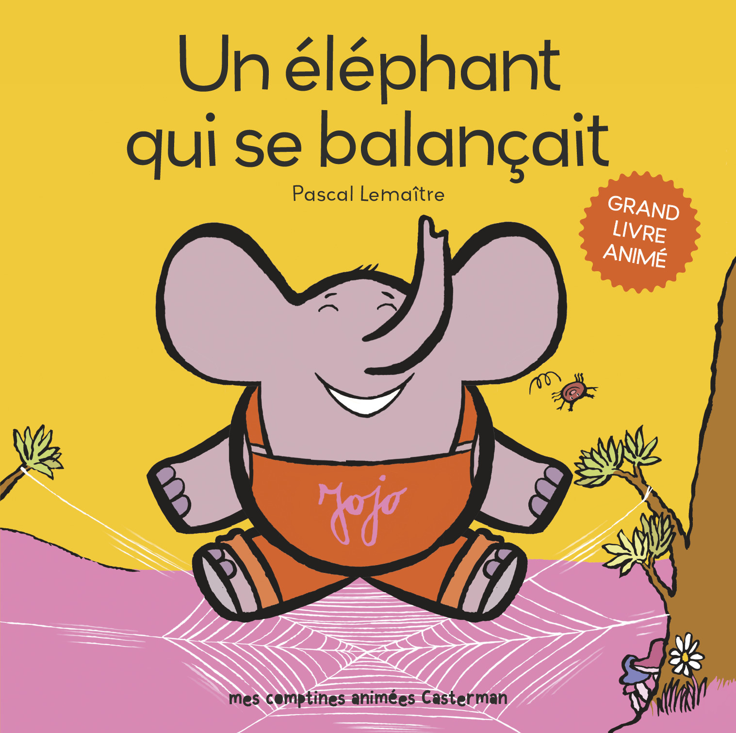 UN ELEPHANT QUI SE BALANCAIT