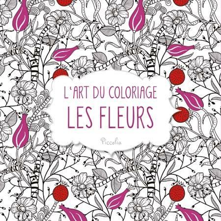 L'ART DU COLORIAGE/LES FLEURS