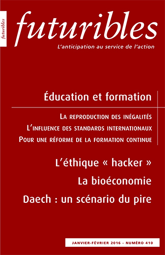 FUTURIBLES 410 EDUCATION ET FORMATION